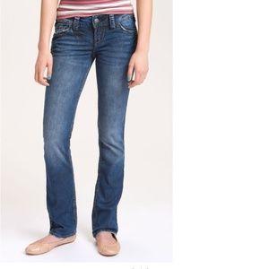 Silver Skinny Slim Bootcut McKenzie Jeans